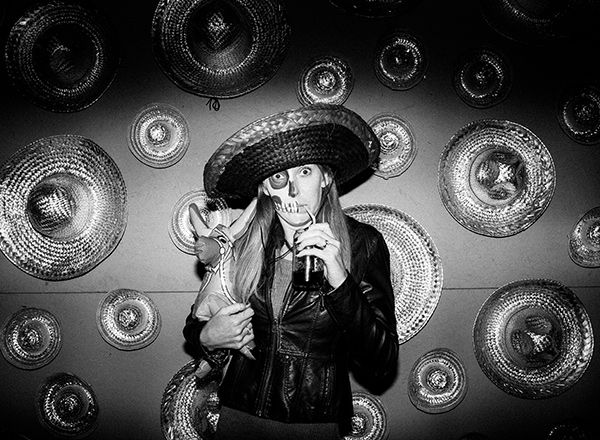 Brad & Nayeli Dia de los Muertos | Clayton Austin. Fine Art Film Photographer. Available Worldwide.