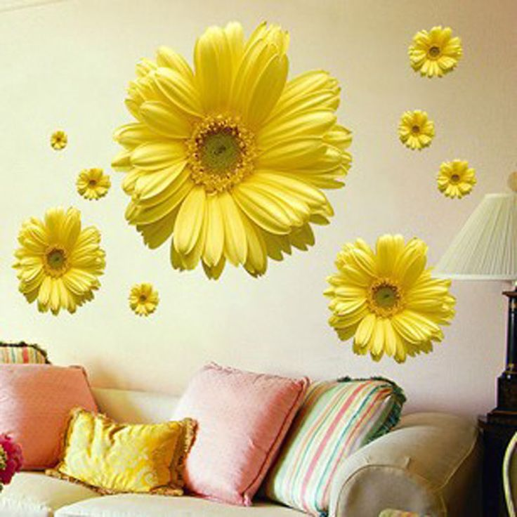 Best Home Decor Images On Pinterest Wall Stickers Home - Wall decals in pakistanblack flowers removable wall stickers wall decals mural home art