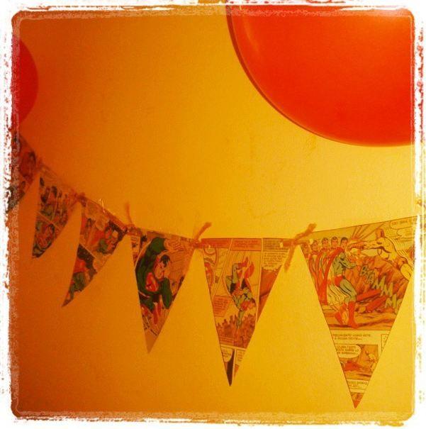 Blog Formas y Colores. Un cumpleaños para una super girl.