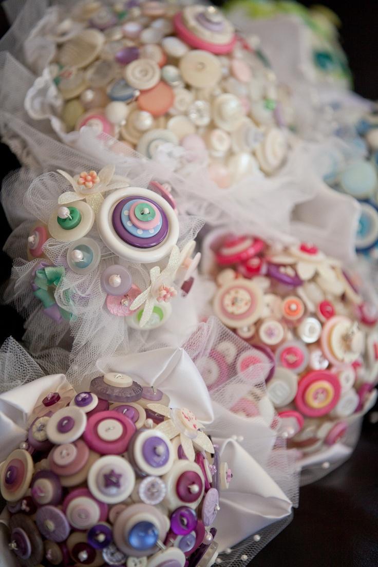 Button bouquets :)