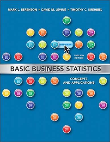 Test bank for Basic Business Statistics Concepts and Applications