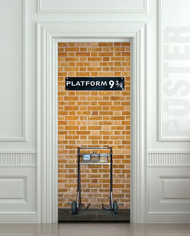 "For the back door | Community Post: 19 Perfect Housewarming Gifts For The ""Harry Potter"" Fan In Your Life"