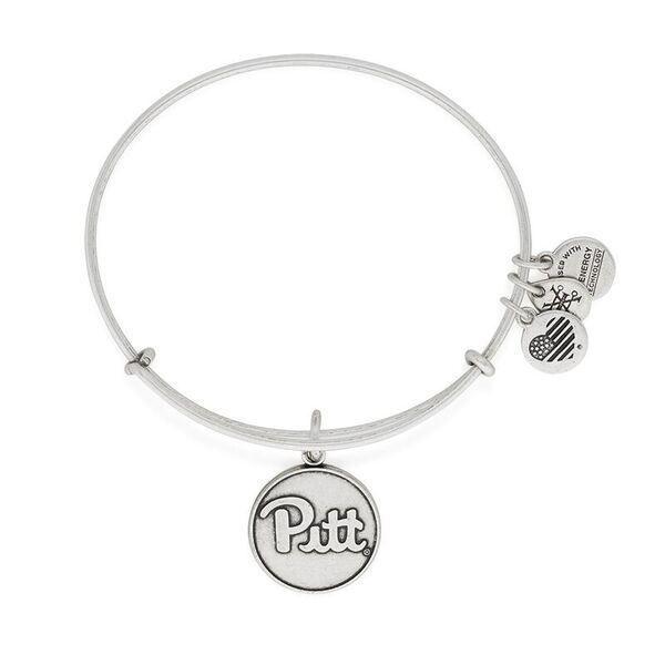 Picture of Pitt Panthers Silver Script Alex & Ani Bracelet