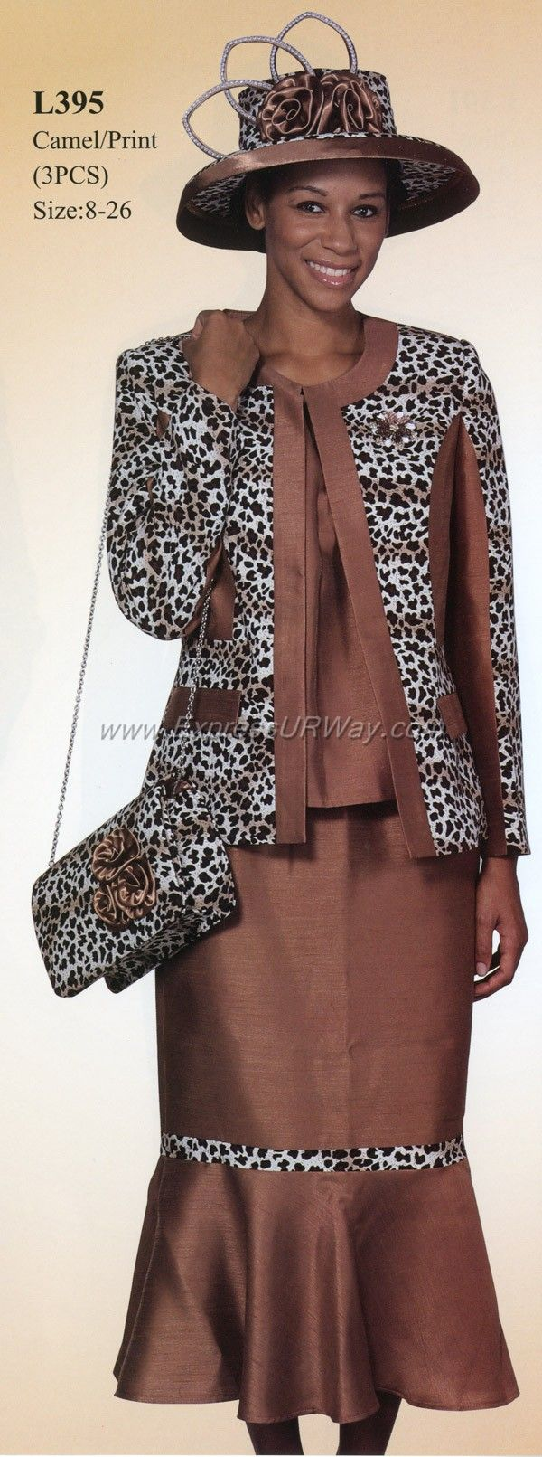 Womens Suits by Lyndas of New York - www.ExpressURWay.com - Womens Church Suits, Church Suits for Women, Ladies Suits, Skirt Suits