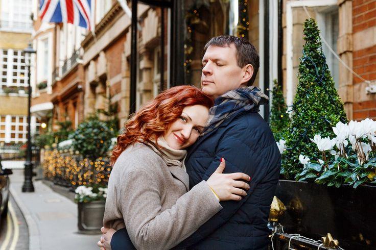Эвелина и Уильям // Прогулочная фотосессия для пары в Лондоне
