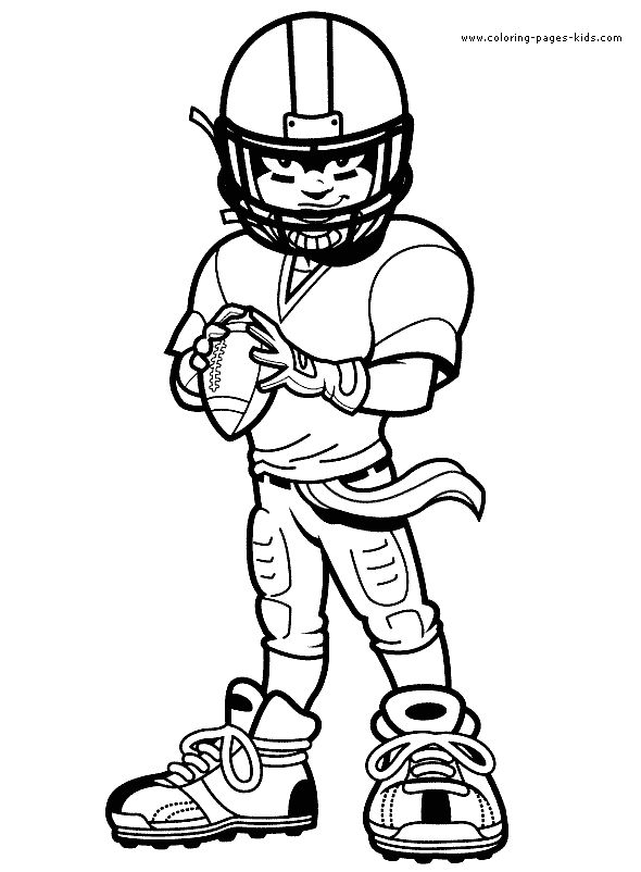 football rugby color page sports coloring pages color plate coloring sheet - Sports Coloring Book
