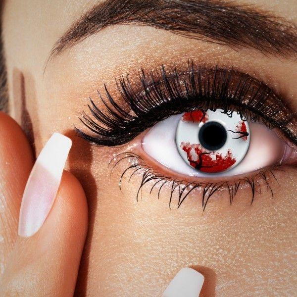 Farbige Motivlinsen, crazy Kontaktlinsen zu Larp, Manga