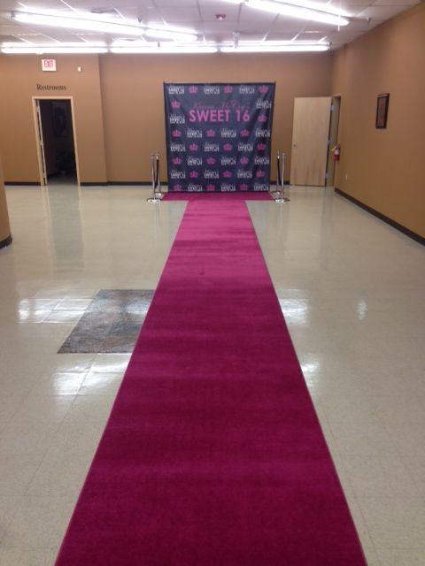 bashpartyrental pink carpet runner rental atlanta