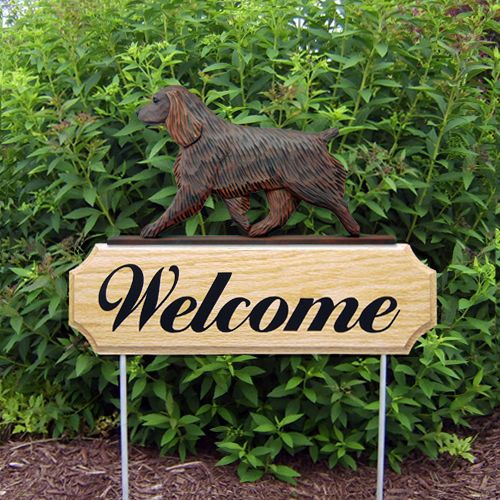 Boykin Spaniel Welcome Sign Stake Home, Yard & Garden Dog Breed Products & Gifts