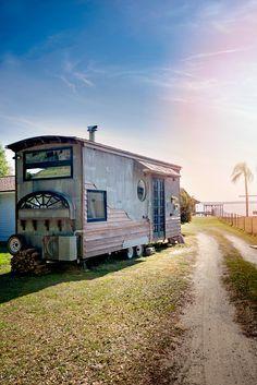 Gypsy Mermaid DIY Tiny House: Just $15K! | Tiny House Talk | Bloglovin'