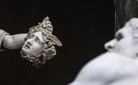 Antonio Canova artwork 'Perseo' restored at Vatican Museum © ANSA