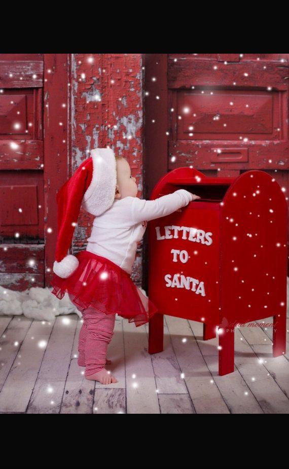 Pôle Nord boîte aux lettres Noël Prop