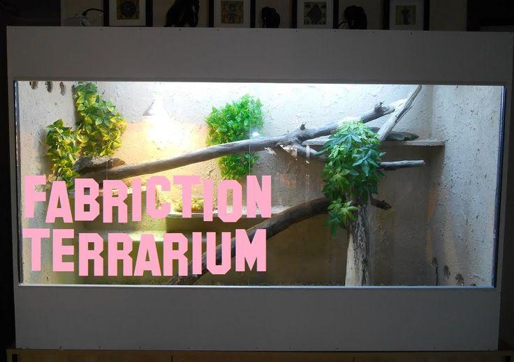 Tuto : Fabrication terrarium serpent, lezard, pogona, sauromalus etc..