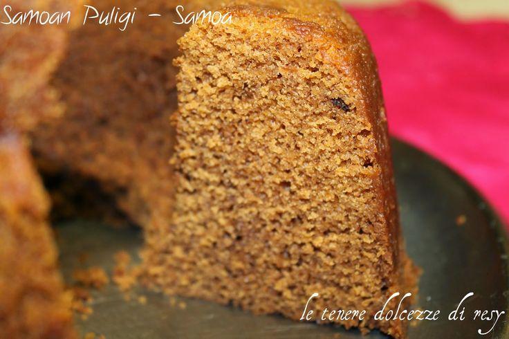 le tenere dolcezze di resy: Samoan Puligi - il ciambellone speziato e cotto al vapore delle Samoa