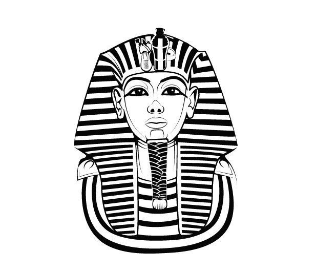 34 Home Decor Art Design Decal Wall Stickers Vinyl Tutankhamun