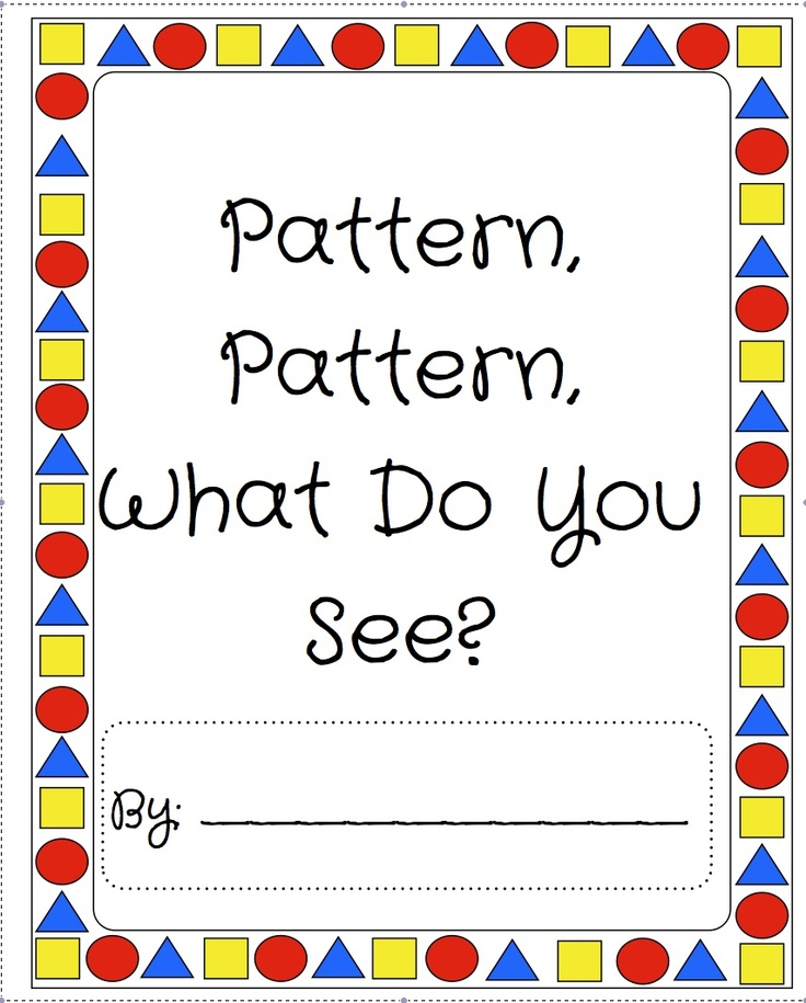 1000+ images about patterns on Pinterest   Pocket charts ...