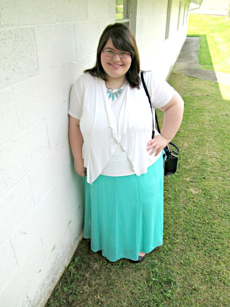 Unique Geek: Plus Size OOTD: It's Mint To Be #plussizeoutfit #plussizefashionblogger #plussizefashion #churchoutfit #mintandwhite #mint