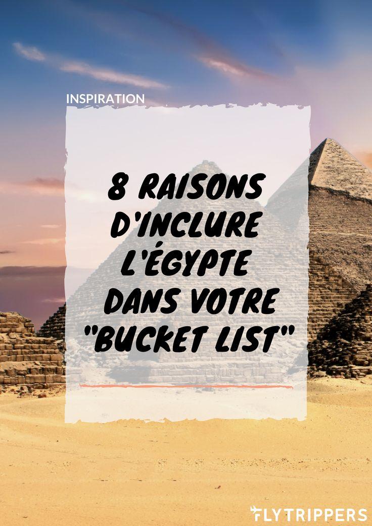 L'Égypte a bien plus à offrir que seulement les pyramides! Découvrez les 8 raisons qui vous donneront envie d'aller visiter l'Égypte.