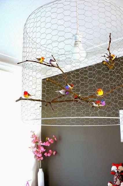 hilde@home: DIY: Vogelkooi of lamp?