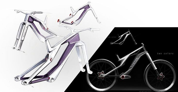 the canyon orbiter e-bike concept imagines the future of urban gravity biking