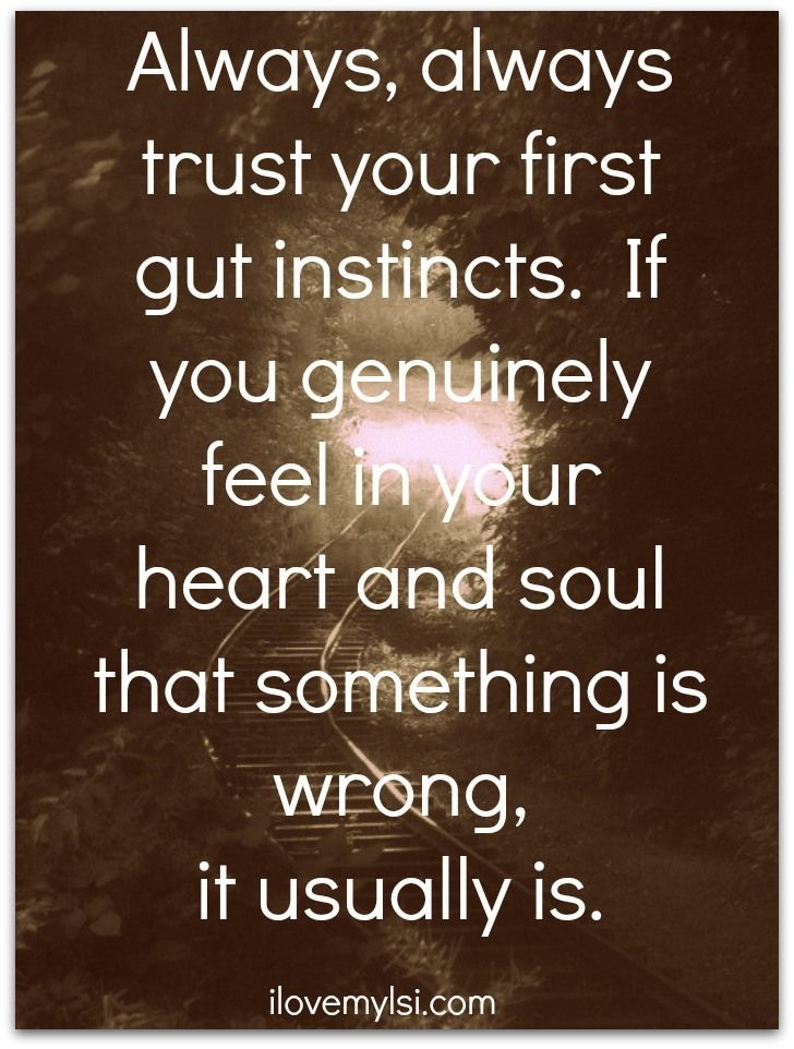 ...hard after you have been lied to and manipulated for so long...finding my instincts...EA