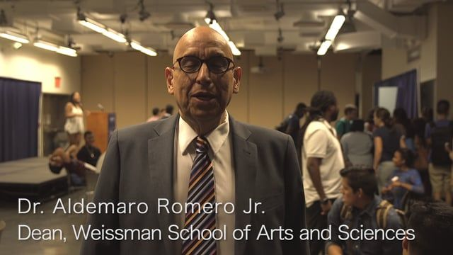 This is the Video blog #4 of the Weissman School of Arts and Sciences at Baruch College. It is about the Latino community in the College