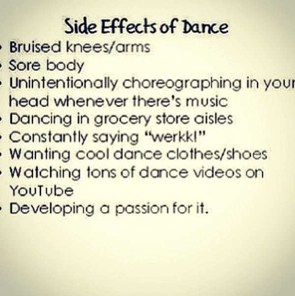 Dancer problems, but most of them I wouldn't really consider problems, just unique qualities!