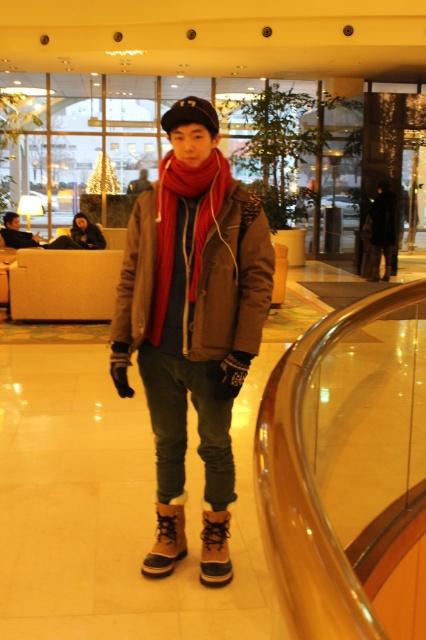 street fashion of korea