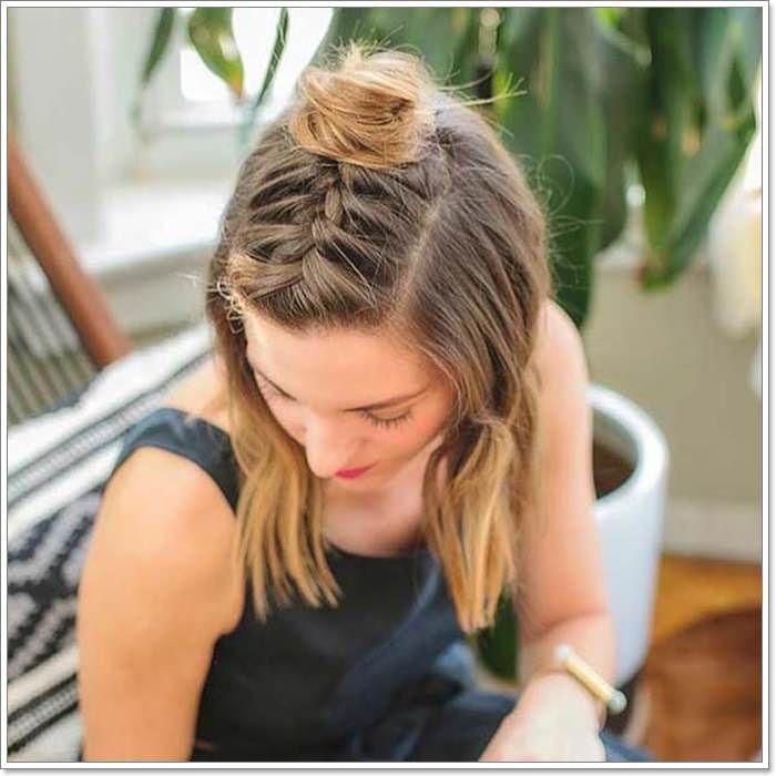 130 Best Half Up Half Down Frisuren, die Sie lieben werden #Frisuren #Liebe