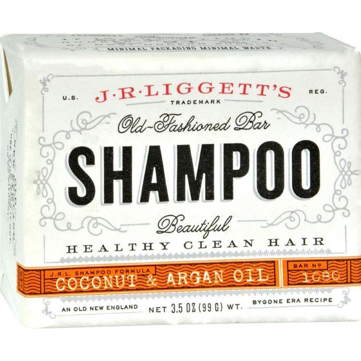 J.R. Liggett's - Coconut And Argan Shampoo Bar ( 4 - 3.5 OZ)-BHA