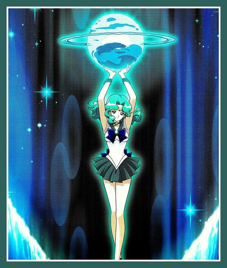 "dangerousperfectionparadise: ""Sailor Neptune attack "" Deep Submerge "" """