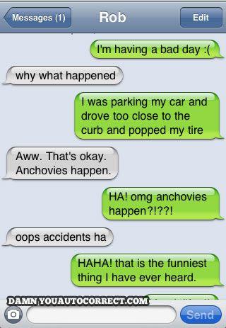 funny auto-correct texts - The 13 Funniest Unlucky Fails