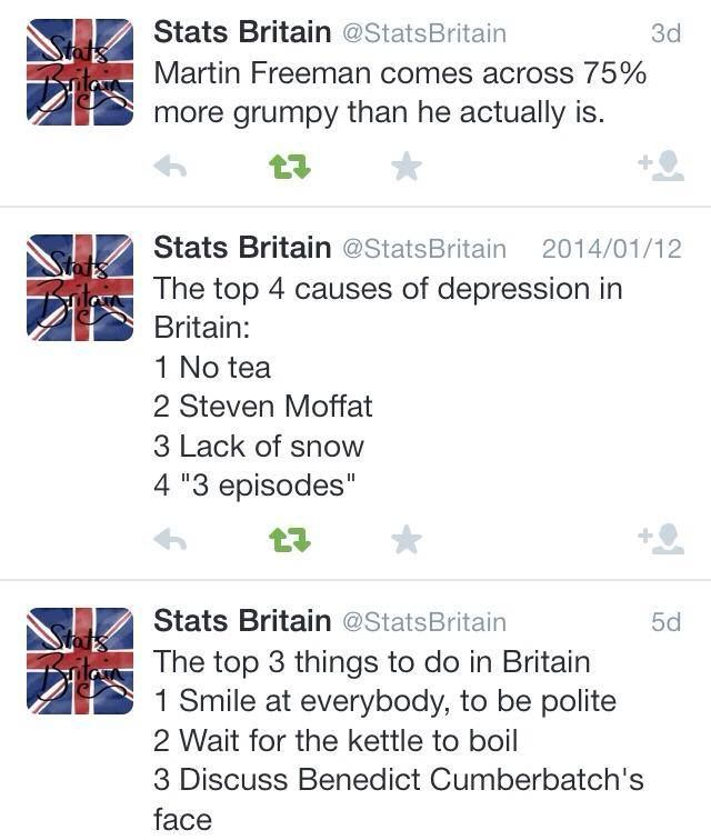 Now I know what normal, average, British life is like. Sounds about like my American life.