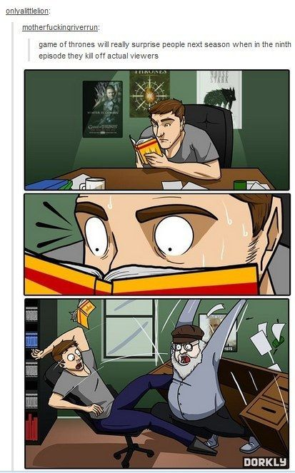 """This cartoon, which is funny for a bit, and then suddenly feels very real. 