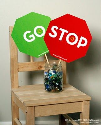 stop and go downloads. perfect for playing red light green light game with kids.