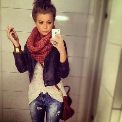Adorable casual teen outfit for winter | Fashion World