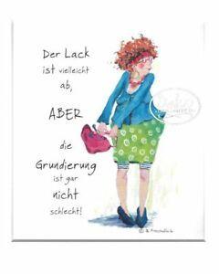 Passepartoutbild von Barbara Freundlieb – 30x24cm – DER LACK IST VIELLEICHT AB | eBay