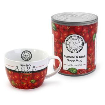 Bia Soup Classics 'Tomato and Basil' Porcelain Soup Mug