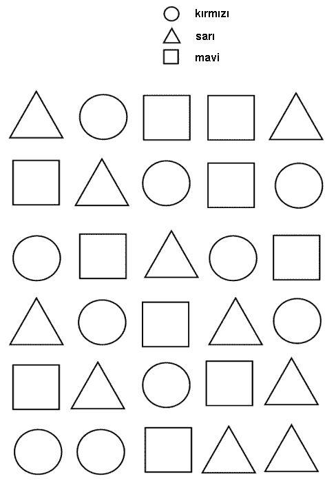 üçgen çizgi çalışması okul öncesi ile ilgili görsel sonucu