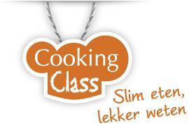 Cooking Class - Slim eten, lekker weten Lespakketten, thema's, recepten en knutselideeën om met kinderen rond evenwichtige voeding en kooklessen te starten.