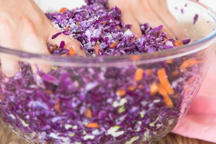 Simple Sauerkraut (Recipe)