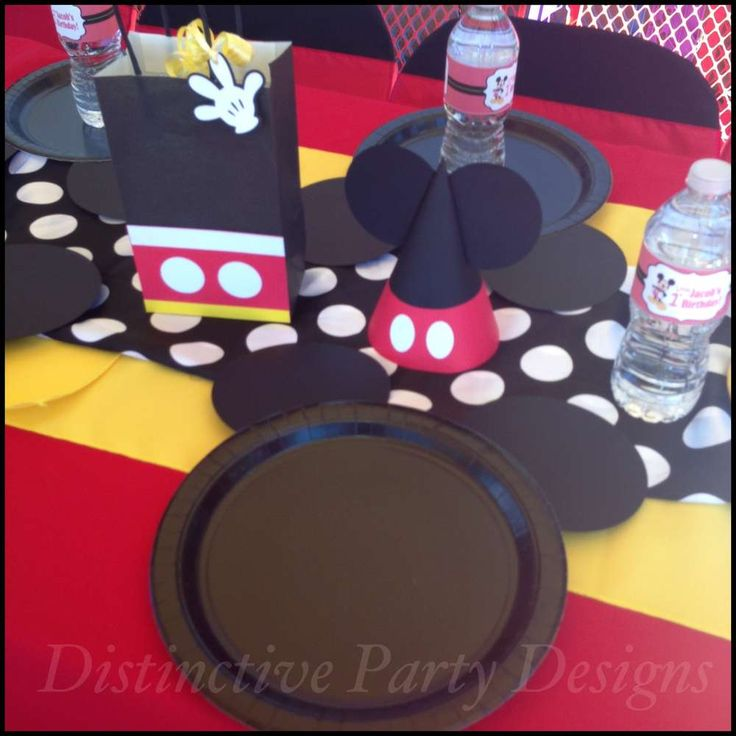 Mickey Mouse Birthday Party Ideas   Photo 1 of 24   Catch My Party
