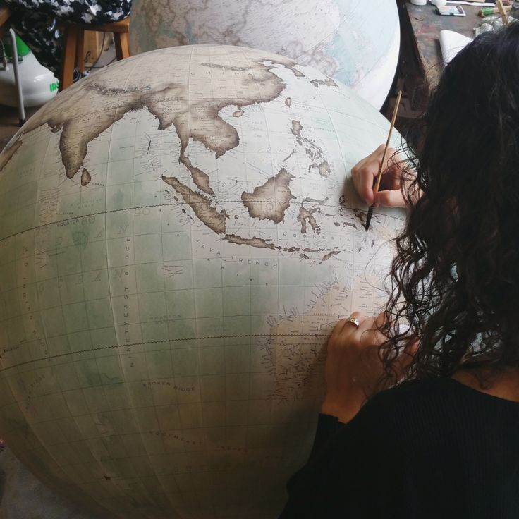 I mappamondo artigianali di Bellerby Globemakers