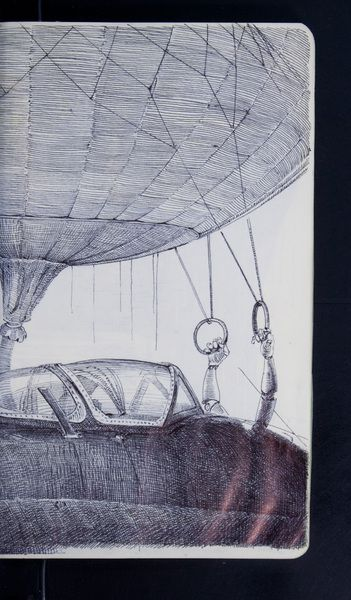 Bogdan, Dirigibles and submersibles, sketchbook project 2011http://www.arthousecoop.com/library/2323#page-slide_25