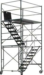 Scaffolding Stair Tower | 12 Rolling Scaffold
