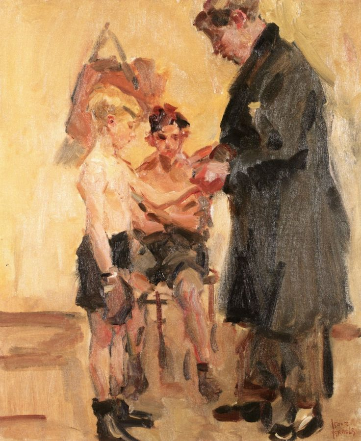 The Boxing Lesson Date unknown (Isaac Israels - )