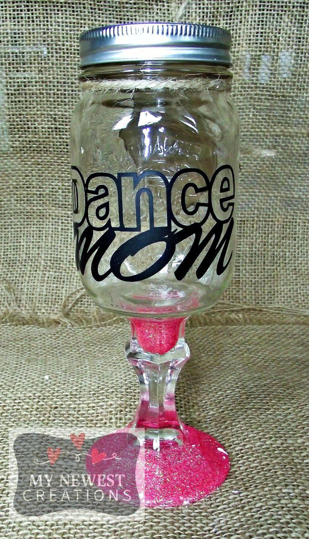 Dance Mom Wine Glass