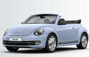 So würde ich mein neues VW Beetle Cabrio konfigurieren.