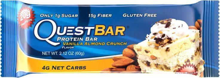 Quest Protein Bar Vanilla Almond Crunch 2.1 oz