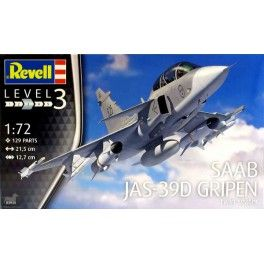 Maquette 1/72 - SAAB JAS-39D GRIPEN - REVELL